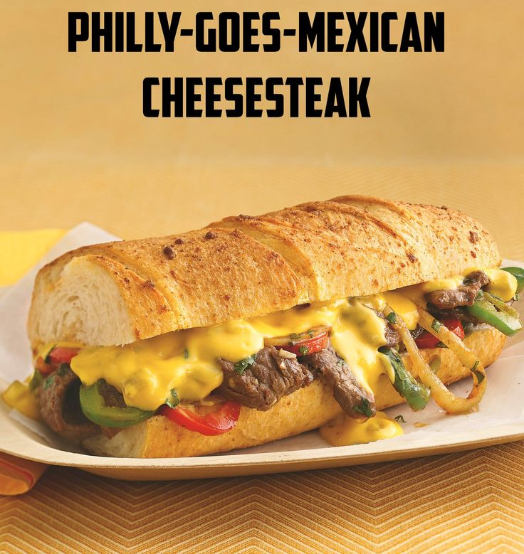 Philly-Goes-Mexican Cheese Steak Recipe — Dishmaps