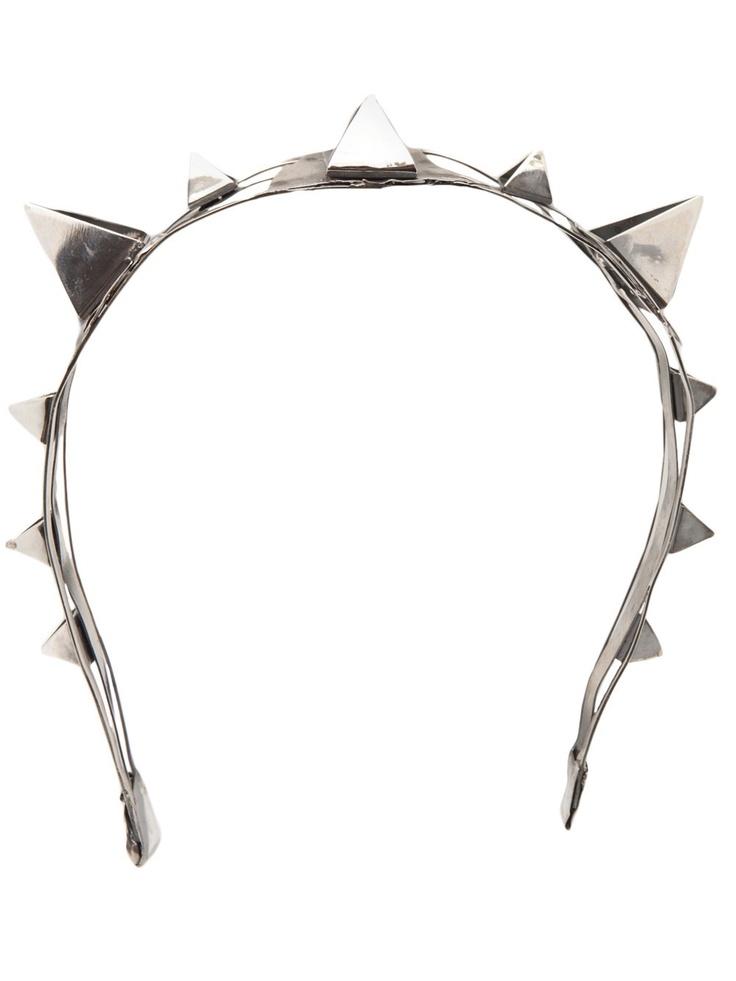 Emanuele Bicocchi Pierced Headband - $1095