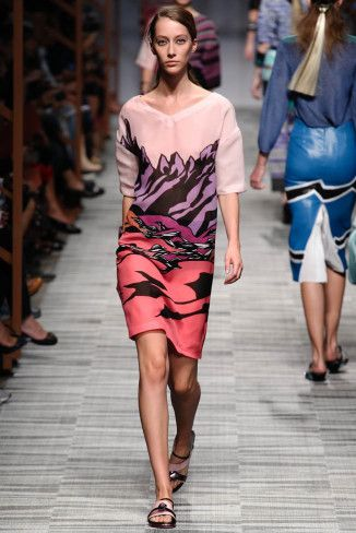 Missoni Spring 2014 | Milan Fashion Week | Best of Past fashion se
