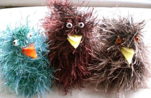 Knit these crazy cute chicks! DIY and Crafts Pinterest