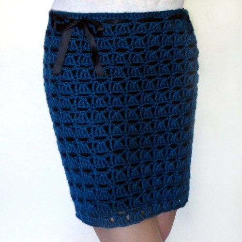 Crochet Pattern Skirt : Openwork Shell Skirt - PDF Crochet Pattern - Instant Download
