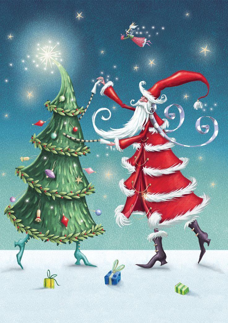 Рождественские Флаги | Рождественская елка вальс | MadAboutGardening.com