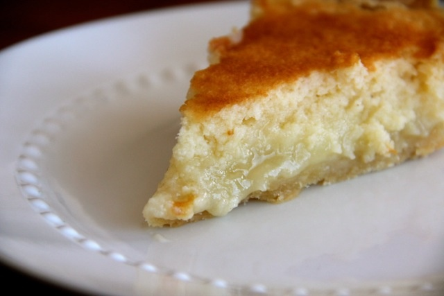 Buttermilk Pie...with subs, it could be healthier....and gluten-free ...