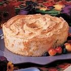 Heavenly Angel Food Cake. Pin leads back to recipe!