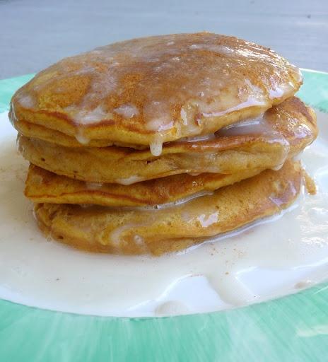 Pumpkin Pancakes?! Don't mind if I do!