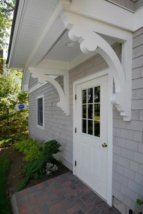 exterior brackets dream house pinterest