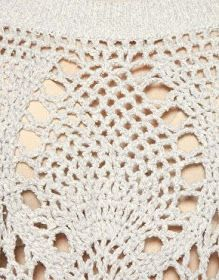 CARAMELO DE CROCHET: top en ganchillo | Blusones Crochet, ideas para