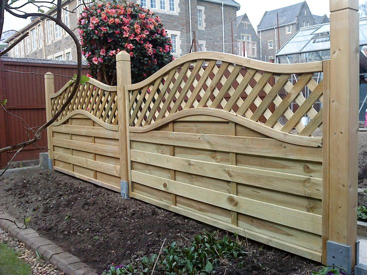 Pretty fence garden ideas pinterest for Pretty fencing ideas