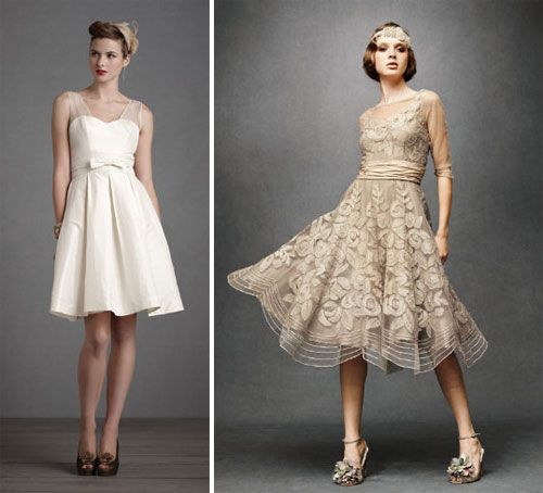 16 non traditional wedding dresses for the modern bride for Non traditional casual wedding dresses