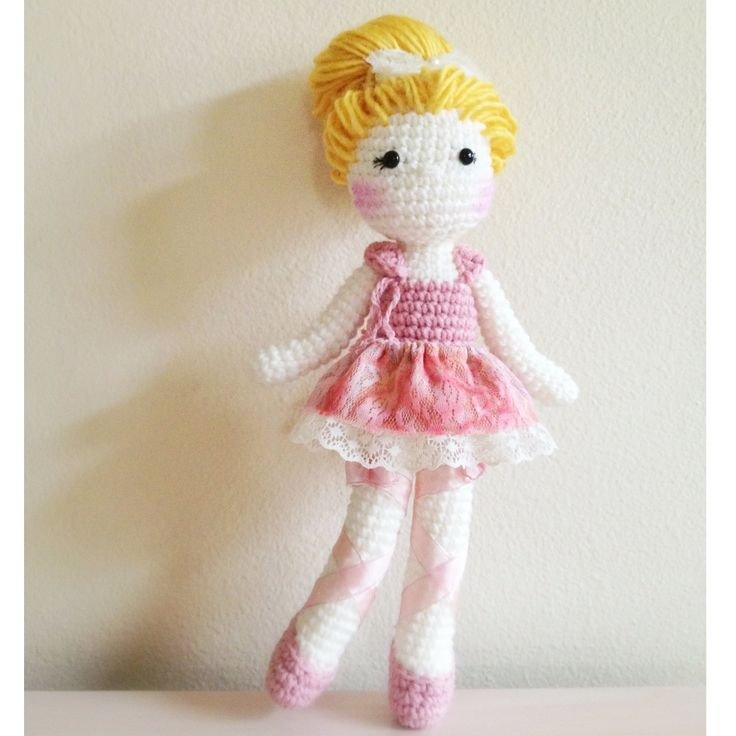 Crochet Ballerina Bear Free Pattern : Pin by Charmaine Neethling on Dolls Pinterest