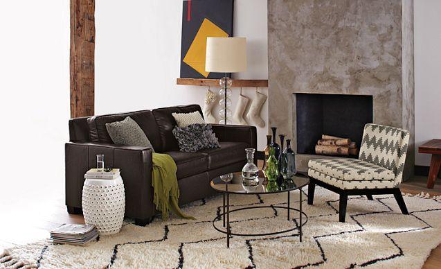 Love the west elm living room looks on westelm com