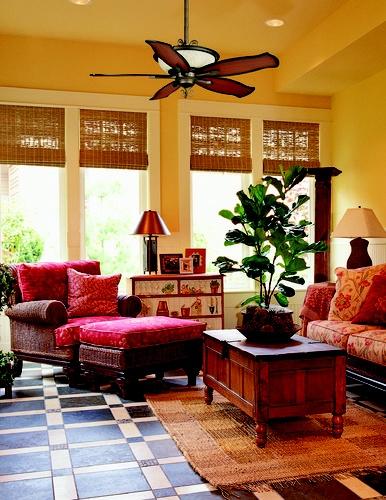 Tropical family room | Dream Home Ideas | Pinterest