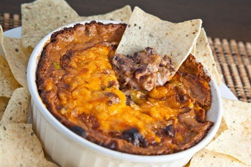 Hot Cheesy Bean Dip | Recipe