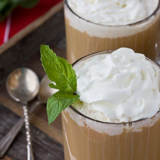 Holiday Recipe: Peppermint Coffee Toddy | christmas | Pinterest