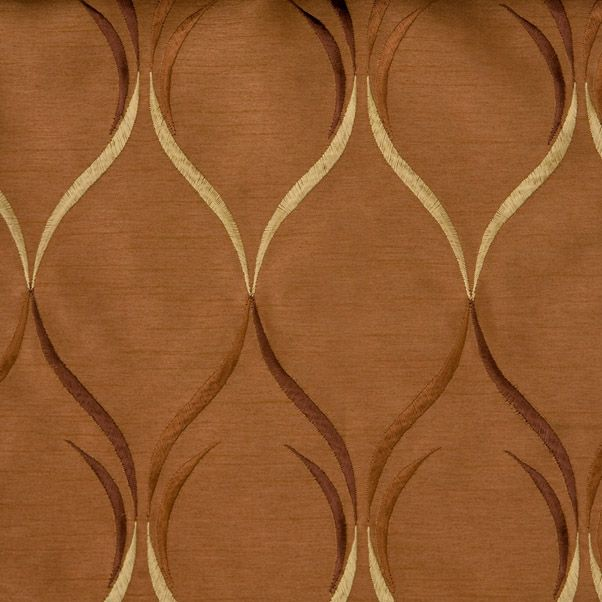 Round Bay Window Curtain Rods Mocha Colored Curtain Panels