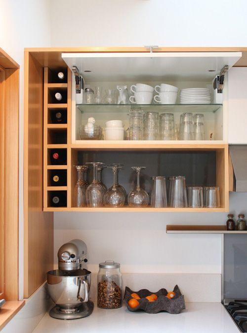 Built in wine rack johnny pinterest for Built in wine racks for kitchen cabinets