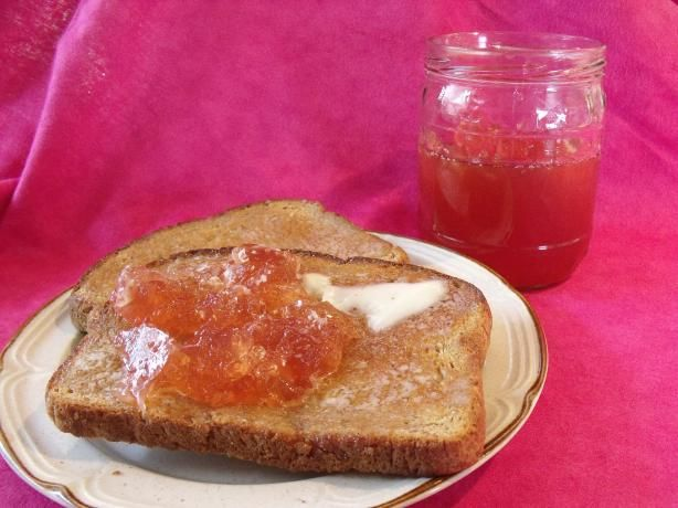 ... Tea Jelly -- you can make this with various flavored/herbal teas