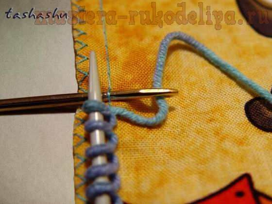 Мастер-класс по вязанию спицами: Вязаная курточка вместо шубки