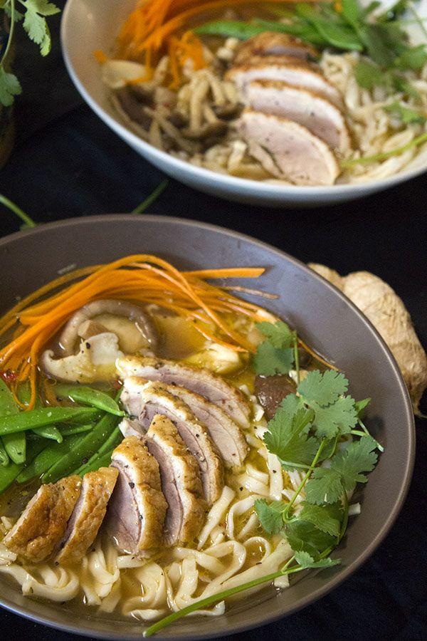 Asian Duck Broth | f o o d ! | Pinterest