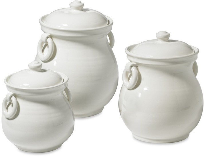 Williams Sonoma Tuscan Ceramic Canisters Home Decor