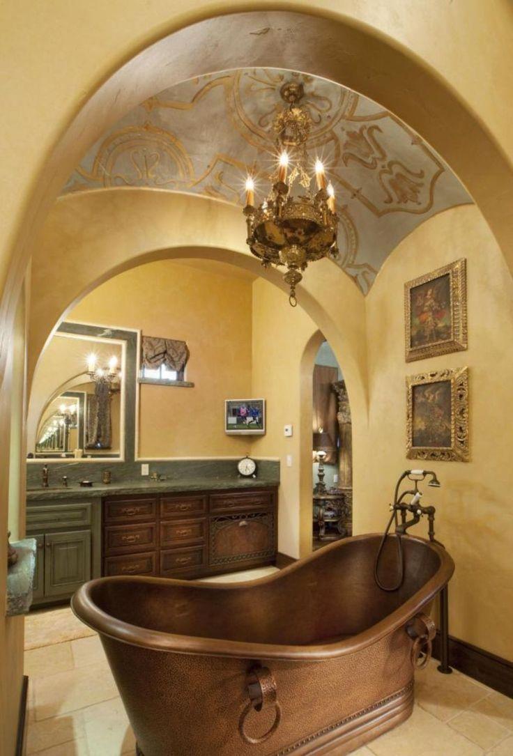 Best  Mediterranean Bathroom Ideas On Pinterest Mediterranean Style Baths Mediterranean
