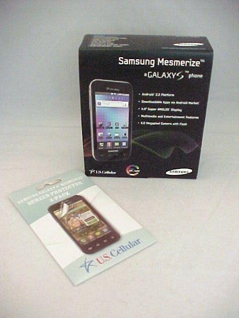 Samsung Mesmerize Galaxy S Phone Model SCH-i500 US Cellular In Box #