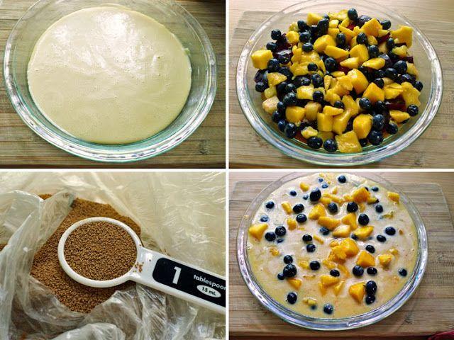 Mixed Fruit Flaugnarde\ | Treats | Pinterest