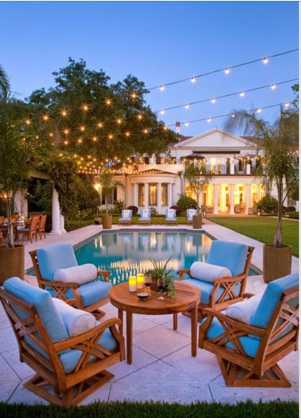 Nice place to have a nice time home decor pinterest for Houses that have pools