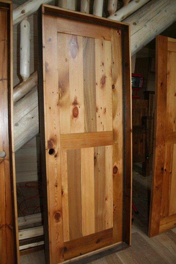 Interior door rustic barn wood barn wood ideas pinterest for Rustic interior barn doors