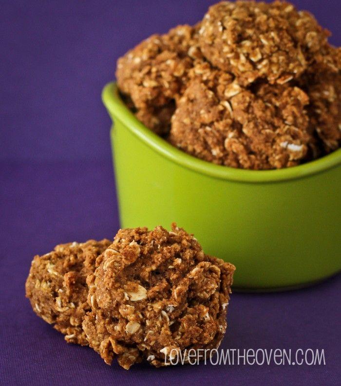 Pumpkin Oatmeal Spice Cookies   Recipe