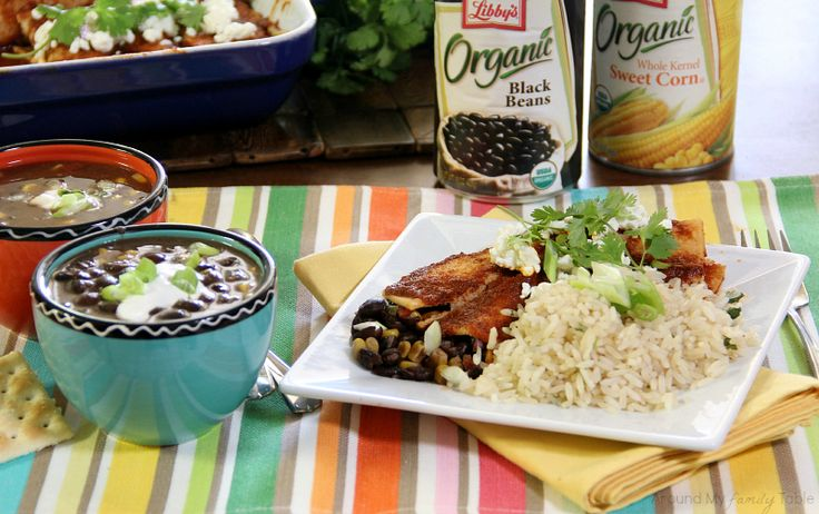 Once, Eat Twice! Slow Cooker Black Bean Soup & then make Enchiladas ...