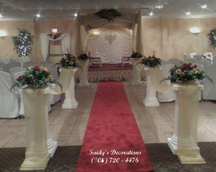 Decoraciones para bodas ceremonias decoraciones pinterest for Decoracion de pared para novios