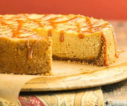 Maple-Pumpkin Cheesecake | Fall Themes & Thanksgiving Ideas | Pintere ...