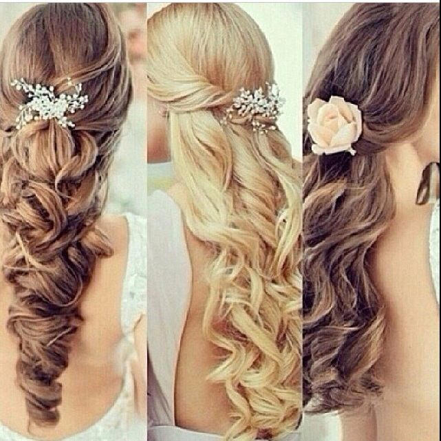 Just some cute hairstyles for special occasions.