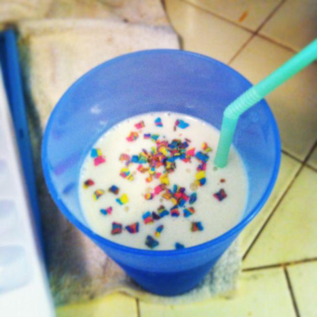 cake batter protein shake | Hafta try! | Pinterest