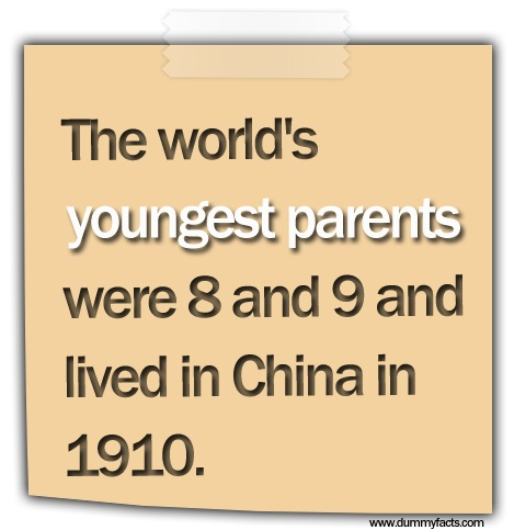 the-worlds-youngest-parents-were-8-and-9-and-lived-in-china-in-1910Youngest Parents 1910