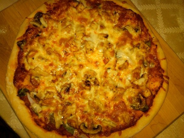 Basil Chicken & Mushroom Pizza   Food Good - Entrees and Sides   Pint ...