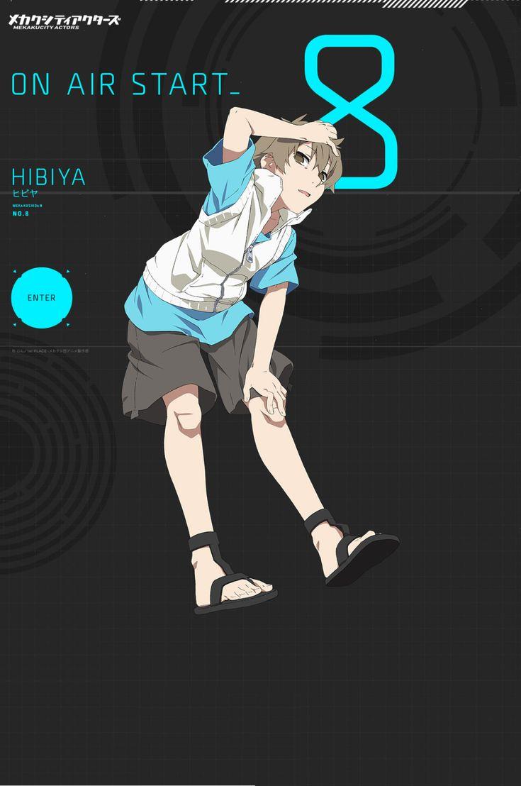Hibiya   Mekakucity Actors   anime, manga, comic books   Pinterest