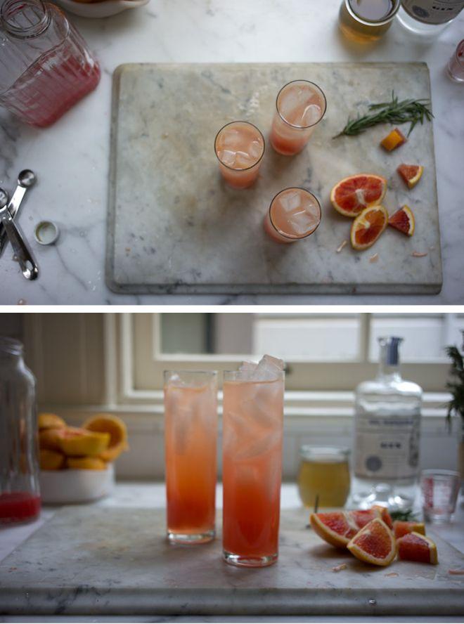 Blood Orange Gin Sparkler | Favorite Recipes | Pinterest