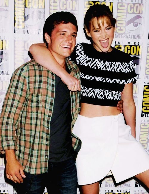 Jennifer Lawrence Josh HutchersonJosh Hutcherson And Jennifer Lawrence Together