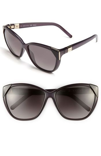 Chloé 60mm Retro Sunglasses | Nordstrom