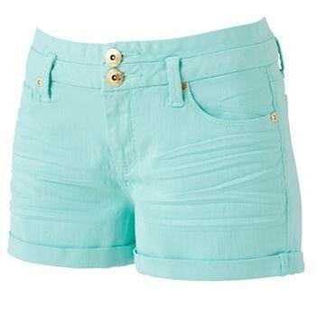 Candie's High-Waist Shortie Shorts - Juniors