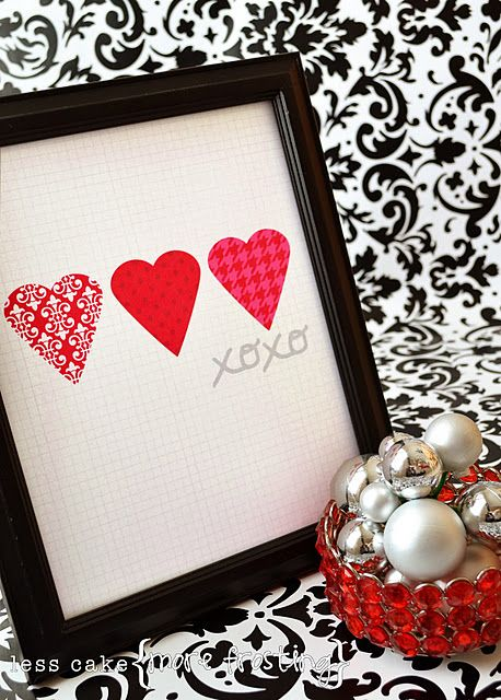 xoxo // Valentine's Day decor