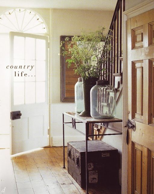 Entrance Hall Or Foyer : Country style entryway home decor pinterest
