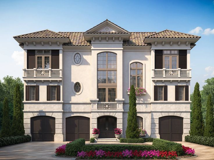 Pin by sater design collection on luxury house plans the for Sater home designs
