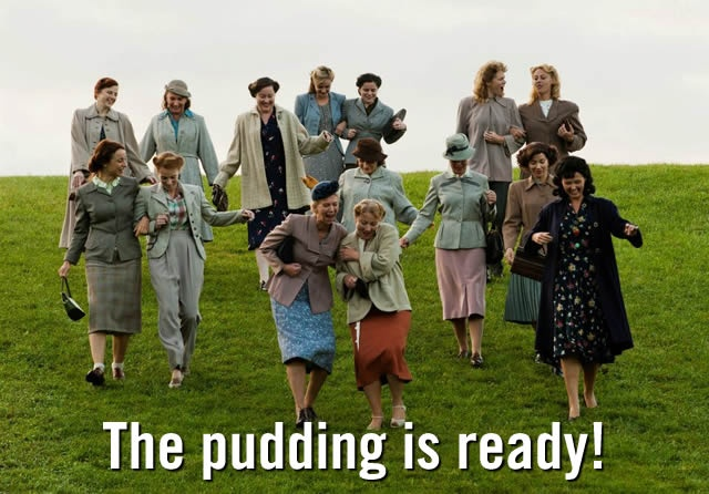 I have no idea what this pictures is about, but it's pretty much how I feel about pudding.