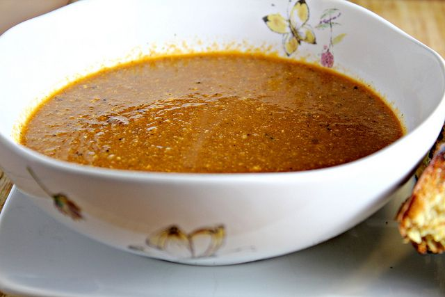 Honey Curry Bread and Warm and Spicy Cashew Tomato Soup