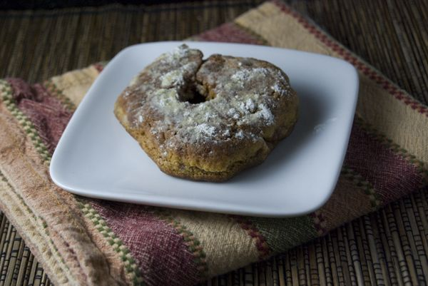 Vegan Apple Cider Mill Doughnuts | cold weather recipes | Pinterest