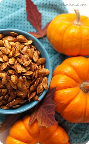 Sugar and Spice Toasted Pumpkin Seeds. (Sugared Pumpkin Seeds using ...