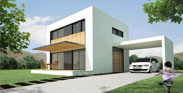 Pin by decasas modulares on ref modulares 2pisos - Cmi casas modulares ...